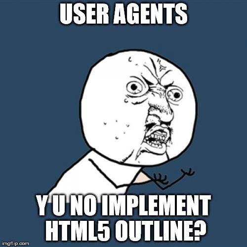 HTML5 Outline