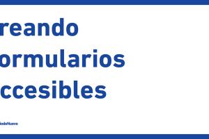 Creando formularios accesibles