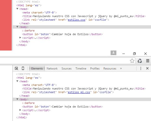 Manipulando CSS con jQuery | OCTUWEB