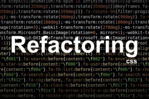 Refactorizar: Welcome to the CSS jungle